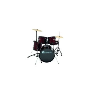 Set tobe DS-200 Drum-Set. wine red